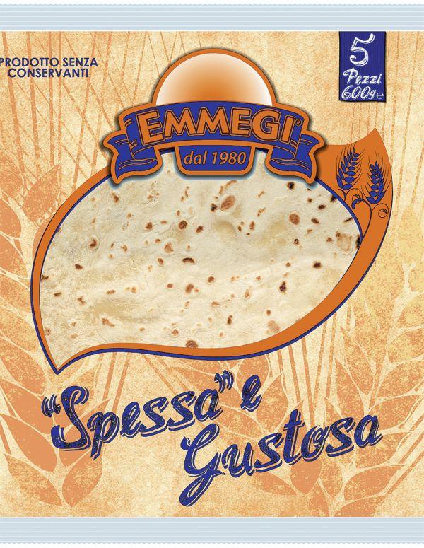 Piadina Spessa & Gustosa classica gr.600
