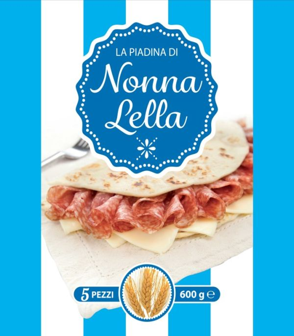 Piadina Nonna Lella classica 5pz gr.600
