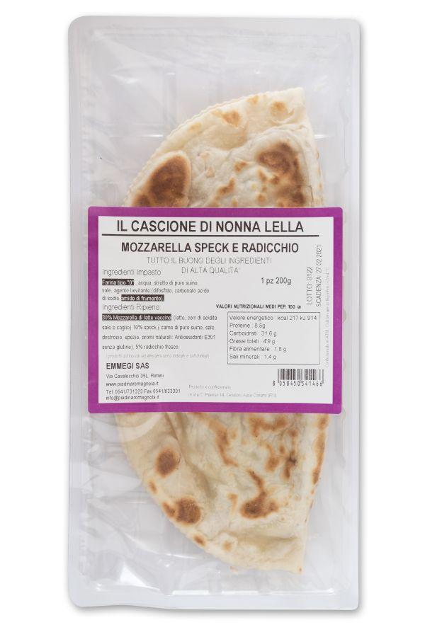 Cassone Speck/Radicchio gr.200